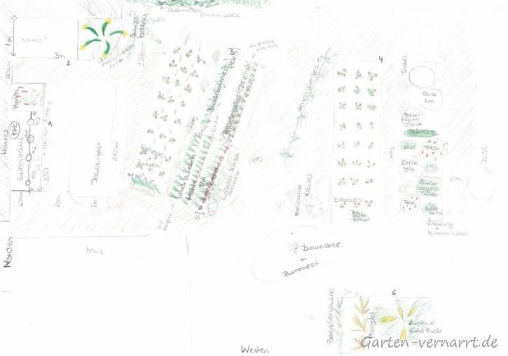 Gartenplan 2018 von Garten-vernarrt